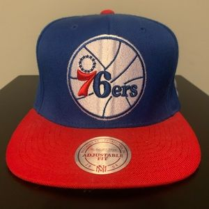 Mitchell And Ness Philadelphia 76ers SnapBack